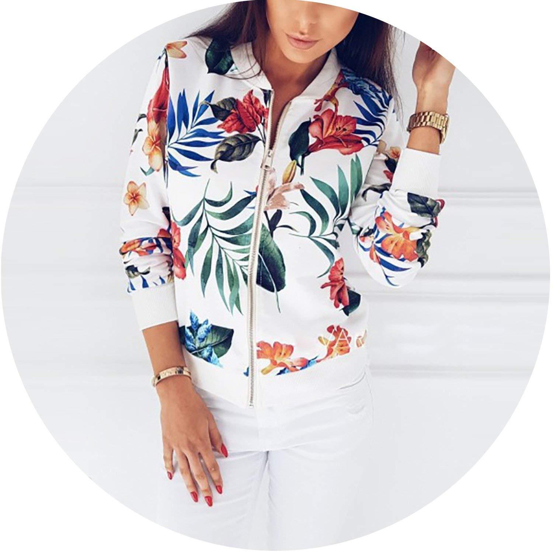 fcd2ada63 Amazon.com: 4XL 5XL Big Size Women Short Jacket Retro Floral Printed ...