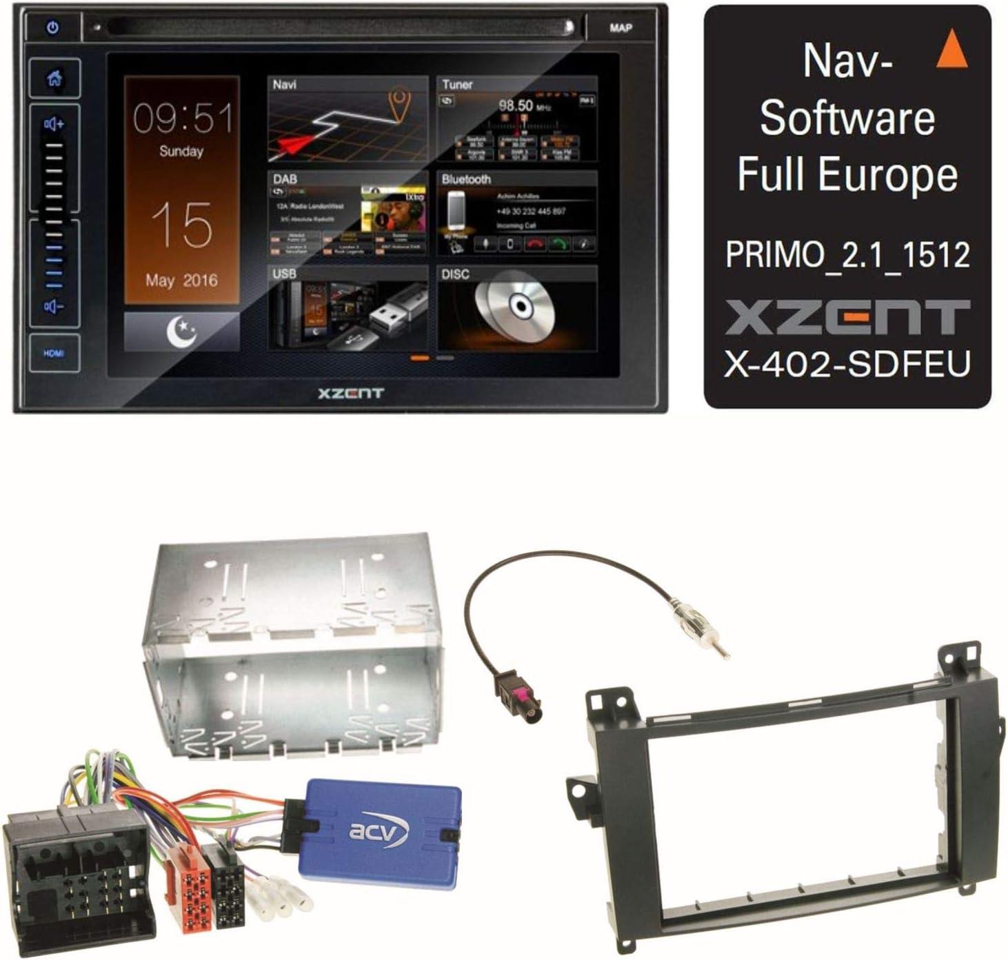Pour Xzent X-402 Carte-Sd Logiciel de Navigation GPS Logiciel 47 Pays Eu