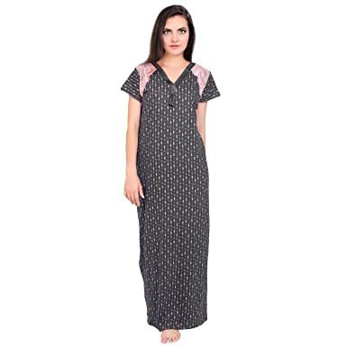 FARRY Women Cotton Nighty 417d182449