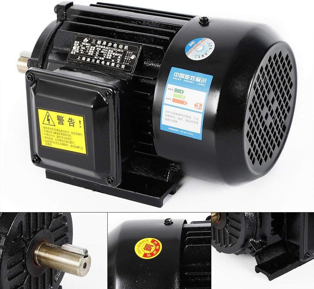 Drehstrommotor 2 Polige 3 Phas Elektromotor Kompressor Asynchronmotor 380v 2830 U Min B3 Kraftstrommotor Wellenhöhe Ip44 Schutzart 2 2kw Baumarkt