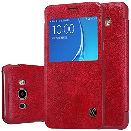 the latest 6606b 0fc13 For Samsung Galaxy J7 2016 Leather Flip Cover Original: Amazon.in ...