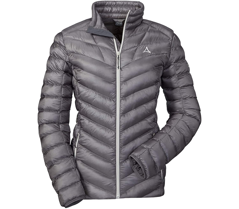 Schöffel Damen Thermo Jacket Annapolis Daunenjacke, Silver