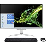 "Acer Aspire C27-962-UA91 AIO Desktop, 27"" Full HD Display, 10th Gen Intel Core i5-1035G1, NVIDIA GeForce MX130, 12GB DDR4, 51"