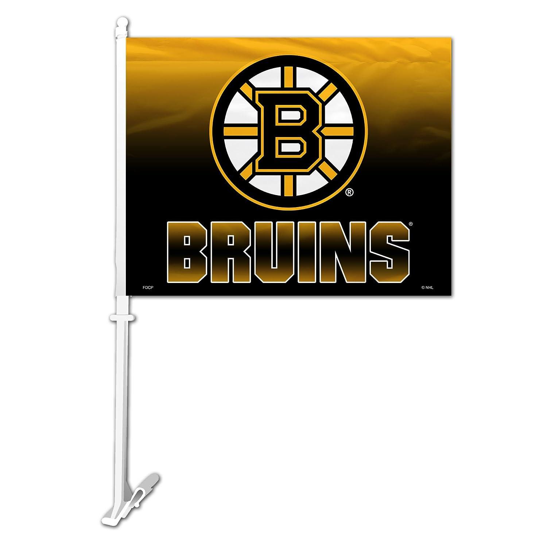 NHL Boston Bruins Ombre Design Car Flag, 11 x 14 11 x 14 Fremont Die 89708