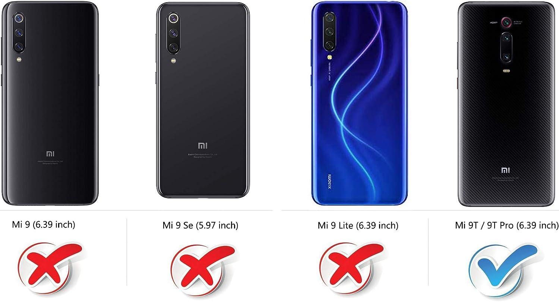 COODIO Funda Xiaomi Mi 9T con Tapa, Funda Movil Xiaomi Mi 9T ...