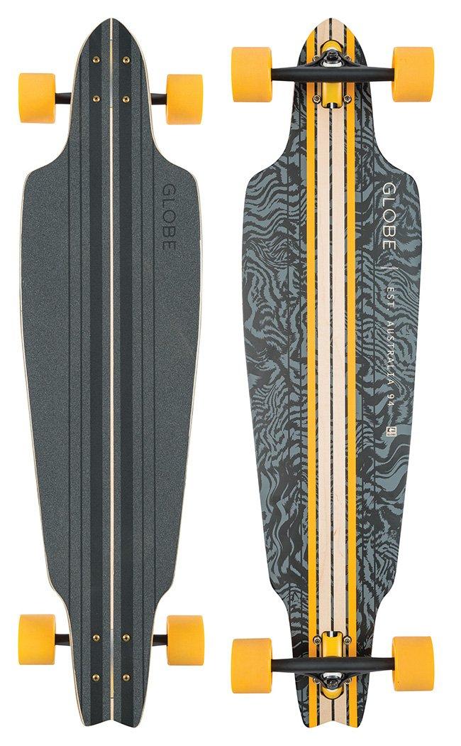 【新品本物】 GLOBE by HG Prowler Cruiser Skateboard, Black/Yellow GLOBE/Tailspin HG by GLOBE HG B00WDVQ5DA, イトグン:39c96e8c --- a0267596.xsph.ru