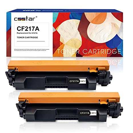 CSSTAR Pack de 2 Compatible Cartuchos de Tóner Reemplazo para 17A ...