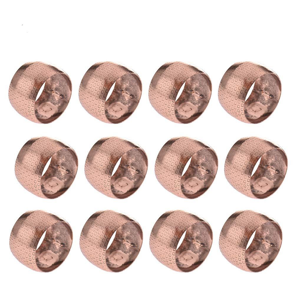 Aneil 12 Pcs Set Napkin Rings