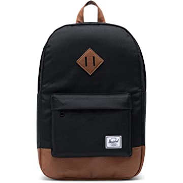 Herschel Heritage Mid-Volume Backpack-Black 373c5a15315cb