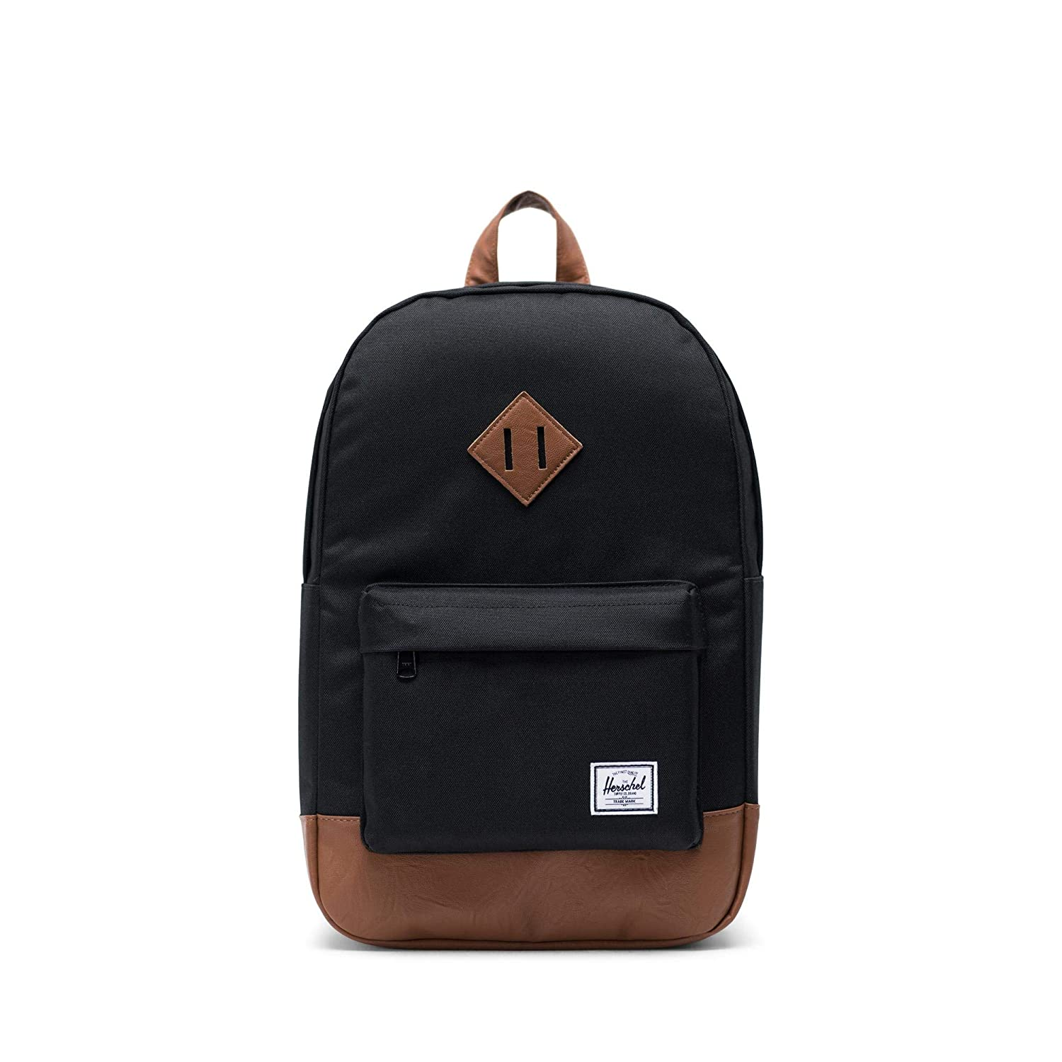 bfb65e1e094 Amazon.com   Herschel Heritage Mid-Volume Backpack-Black   Casual Daypacks