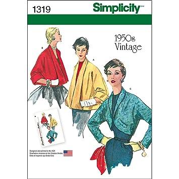 Simplicity 1319 Größe H5 Misses \'Set von Vintage Jacken ...