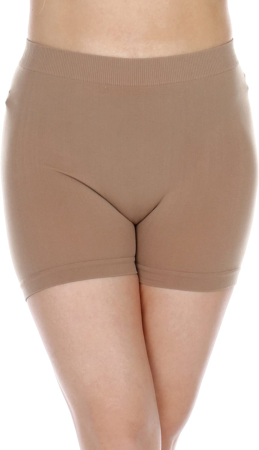 Perfect to Wear Under Dress or Skirt TODAY SHOWROOM Womens Lightweight Thin Stretch Mini Shorts Regular /& Plus Size