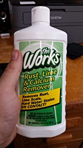 The Works Rust, Lime and Calcium Remover (Packaging May Vary)