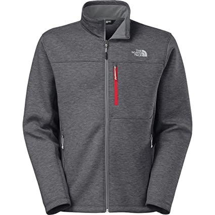 bc404337a4d4 Image Unavailable. Image not available for. Color  The North Face Haldee  Full Zip Mens Asphalt Grey Heather L