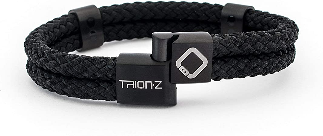 Small, Black//Ocean Trion:Z Acti Loop Magnetic Therapy Wristband
