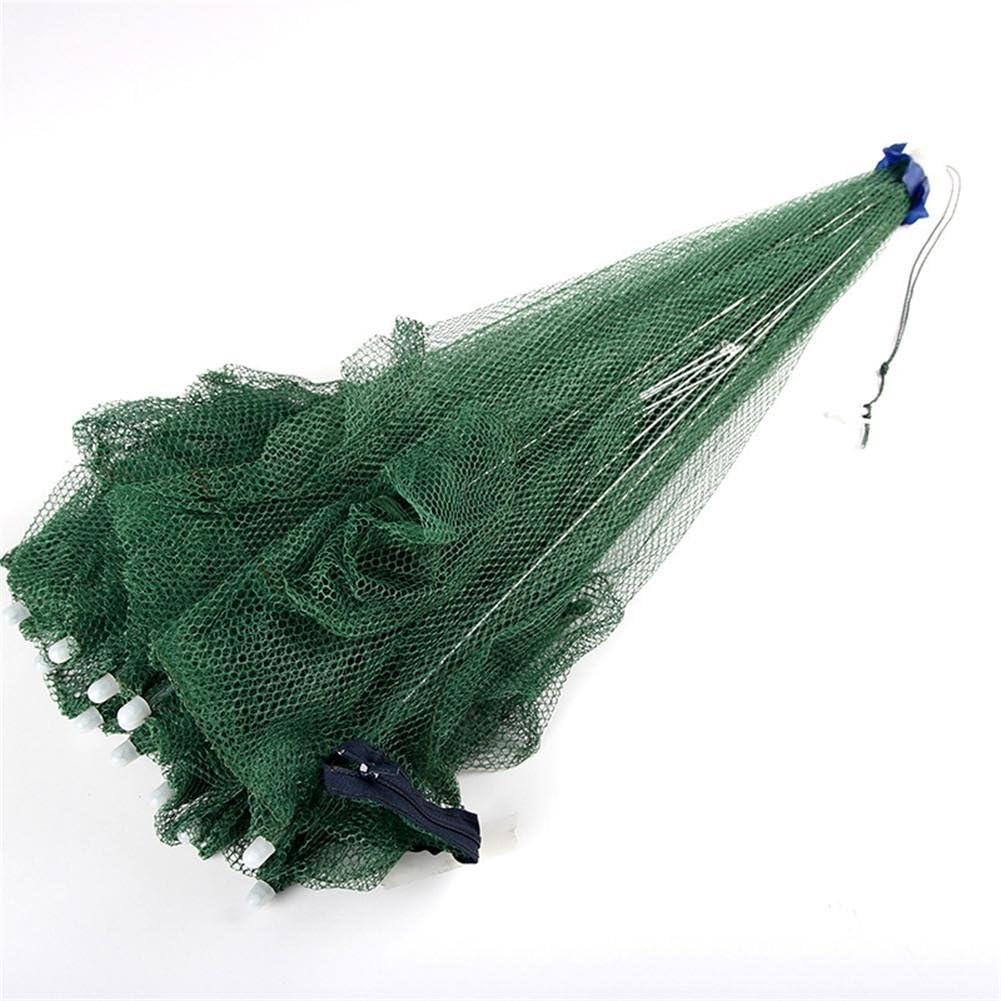 Seasaleshop K/öderfischreuse Angel K/öder Netz mit Mehreren Eing/ängen Krebsreuse Aalreuse Fischreuse mit Pop Up Funktion