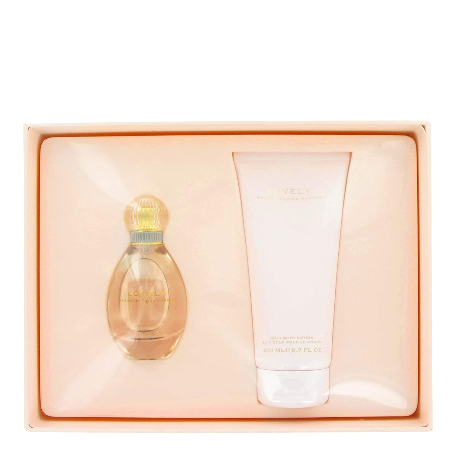 Lovely By Sarah Jessica Parker Gift Set 1.7 Oz Eau De Parfum Spray + 6.7 Oz Body Lotion (Ea)