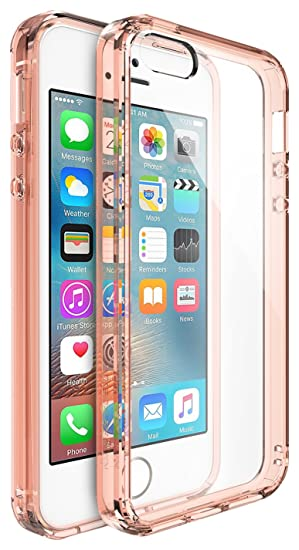 d514e218579 Ringke Funda para Apple iPhone SE/5S/5, color Rosa (Rose Gold ...