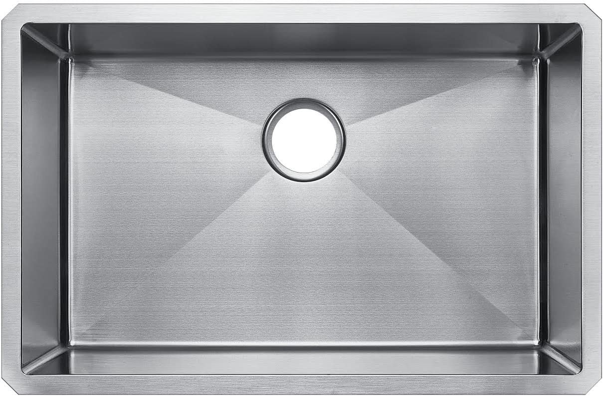 Starstar 29 X 19 Single Bowl Undermount Kitchen Sink 304 Stainless Steel