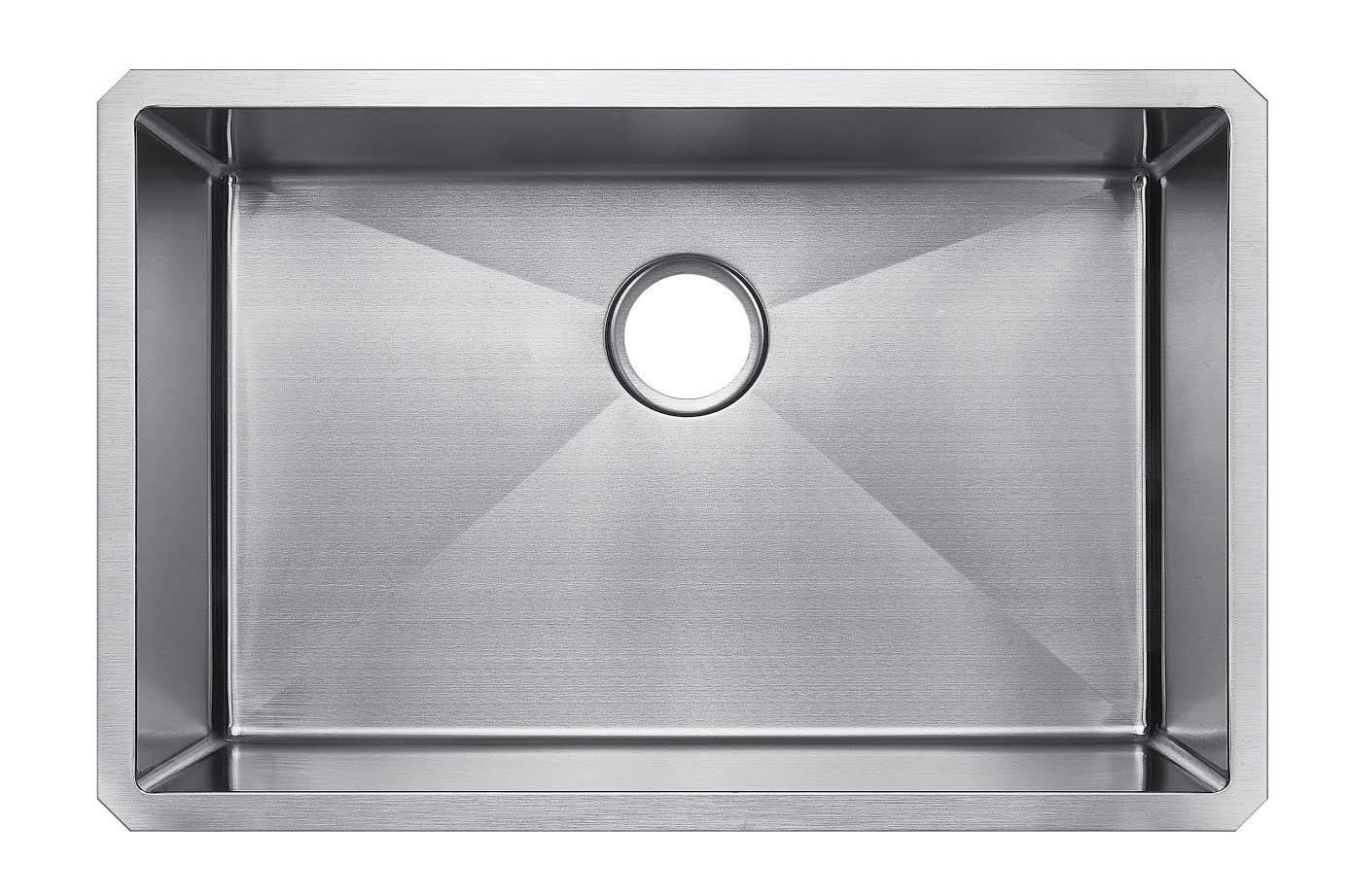 Starstar 32 X 21 Single Bowl Undermount 304 Stainless Steel 16 Gauge Kitchen Sink