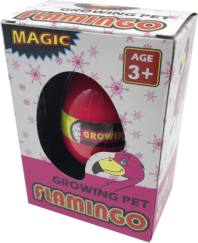 Uovo da Fenicottero Magico JustRean Toys 1 x Fenicottero Rosa