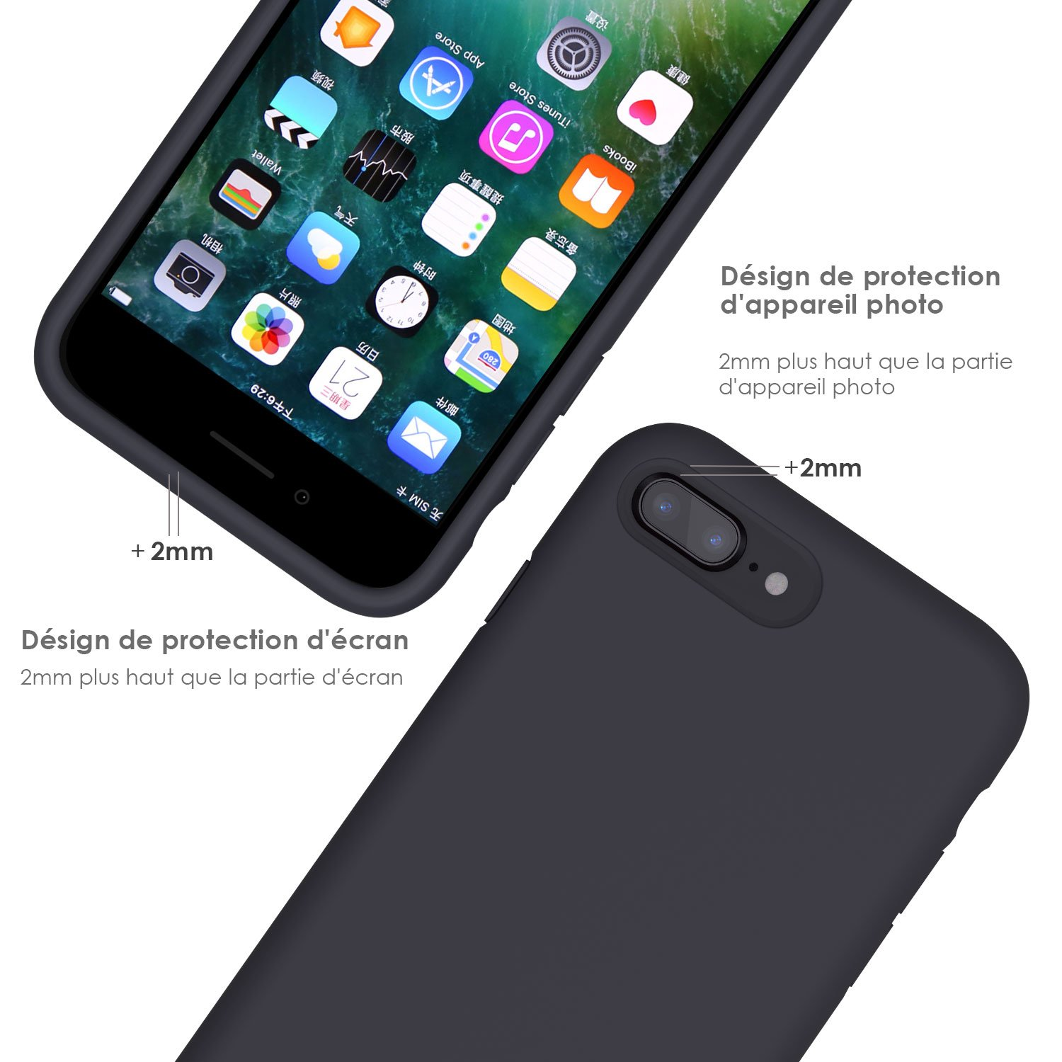 jasbon coque iphone 8