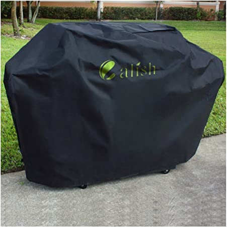 Calish extra large Housse pour barbecue Durable Heavy Duty Oxford Tissu Imperméable