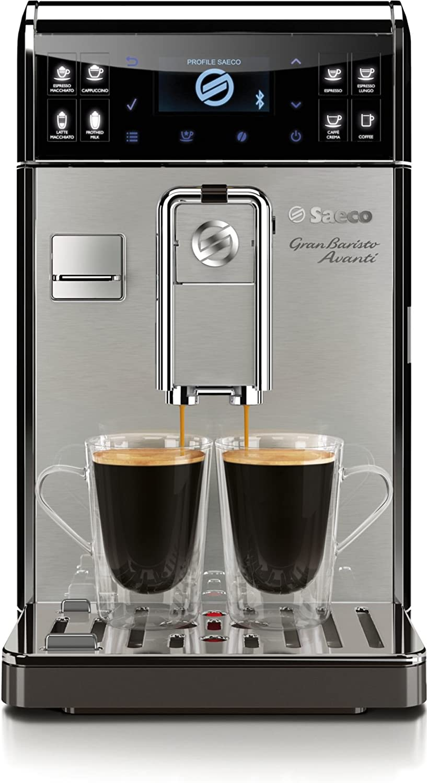 Saeco GranBaristo Avanti HD8978/01 - Cafetera (Independiente, Máquina espresso, 1,7 L, Molinillo integrado, 1900 W, Gris, Acero inoxidable): Amazon.es: Hogar