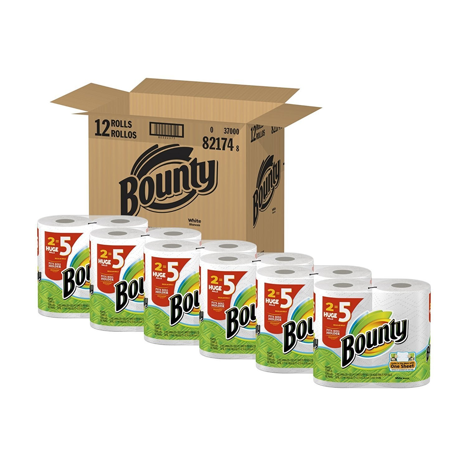 Bounty Paper Towels Huge Rolls (24 Roll Value Size) by Bounty (Image #1)