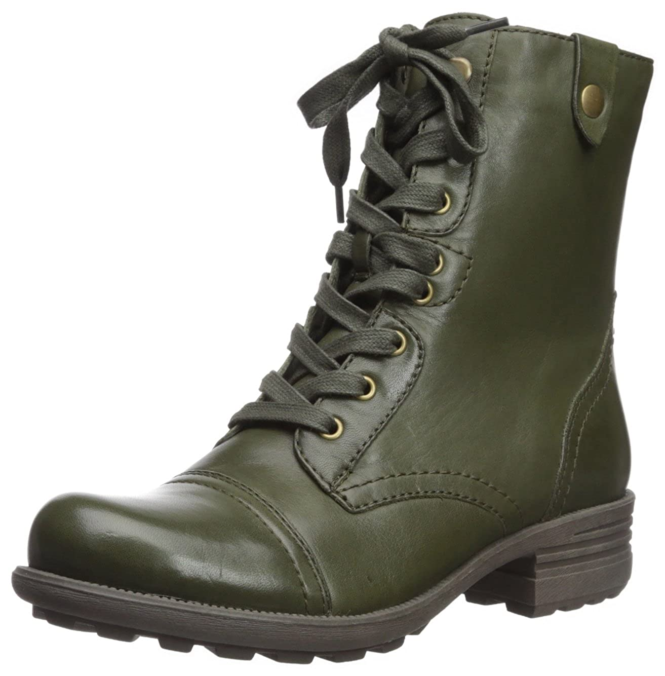 Green Leather Cobb Hill Rockport Women's Bethany Boot