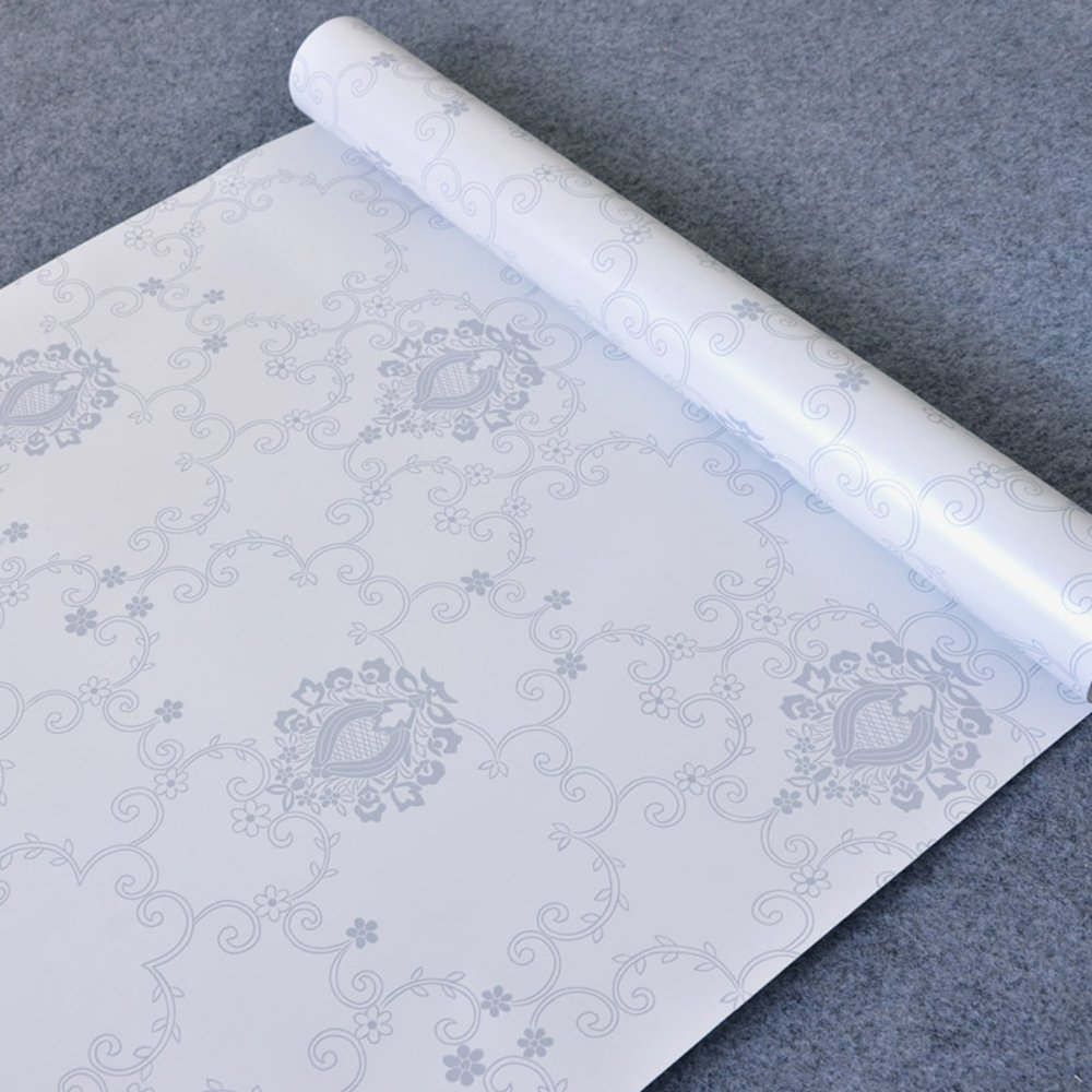 SimpleLife4U Victoria Style Self-Adhesive Shelf Drawer Liner Removable PVC Contact Paper 45x300cm by SimpleLife4U (Image #5)