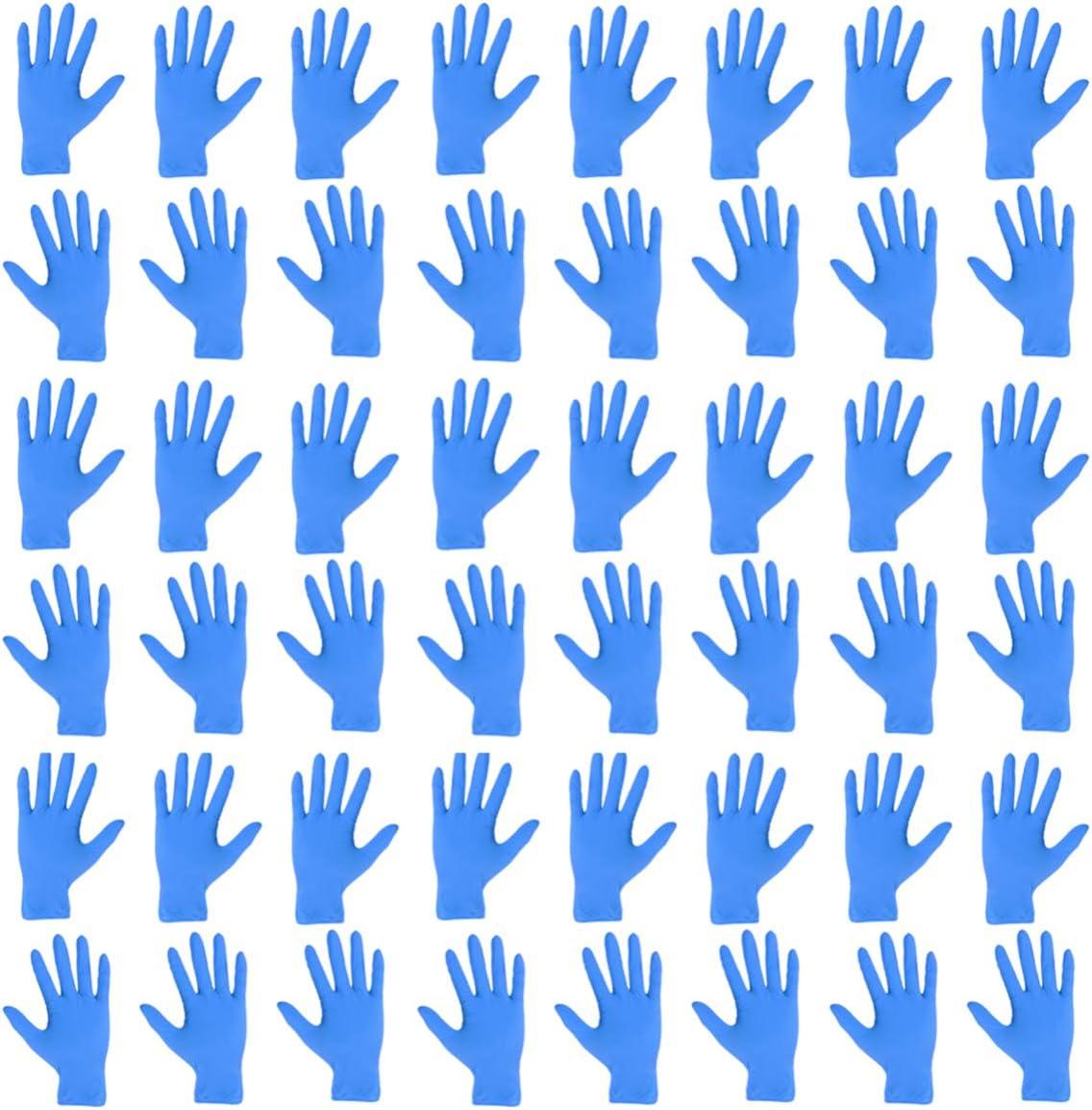 TOPBATHY 100 pz guanti monouso in nitrile guanti in nitrile industriale senza lattice senza polvere s