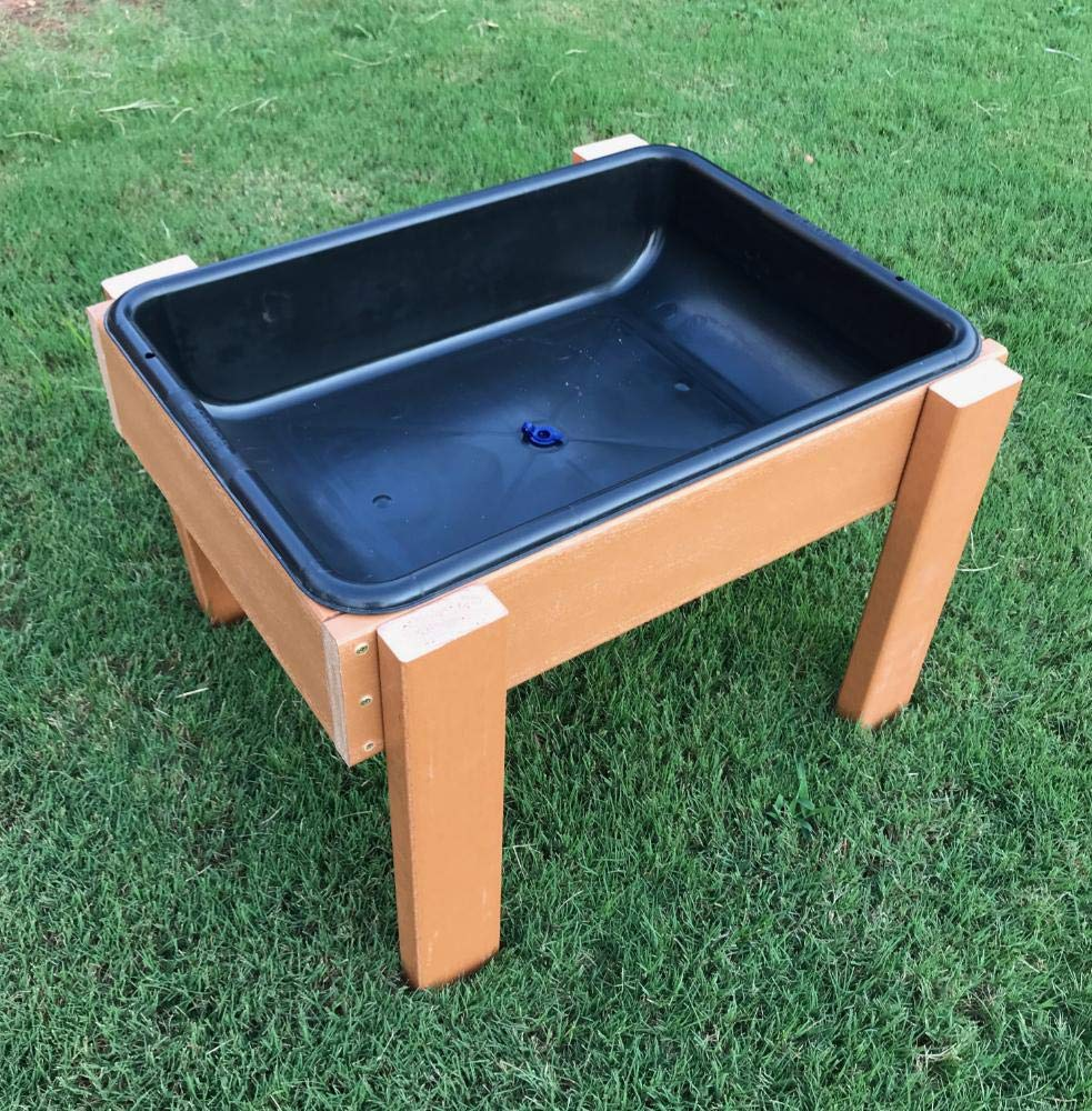 #44460 Kids' Station Outdoor Sand/Water Table w/Drain by Kids' Station by Peffer Cabinets (Image #2)