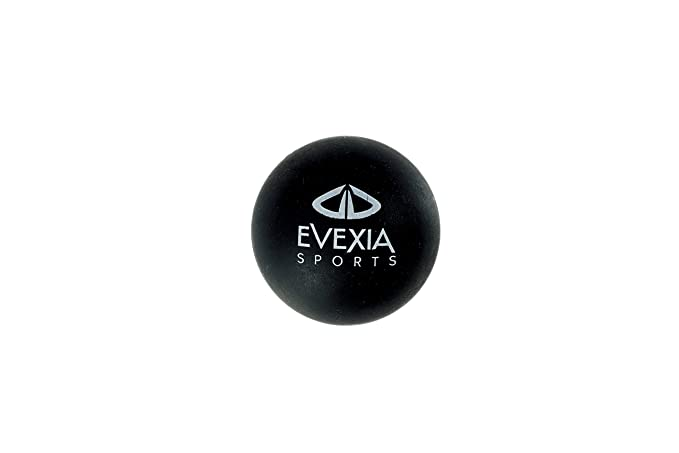 Masaje pelota - Cacahuete bola de Lacrosse - ideal para punto de liberación miofascial, disparador terapia y masaje de tejido profundo - mejor movilidad ...