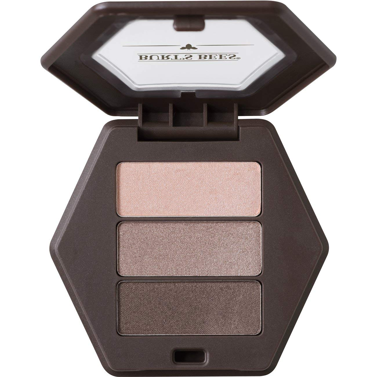 Burt's Bees 100% Natural Origin Eye Shadow Palette Trio Shimmering Nudes - 0.12 Ounce