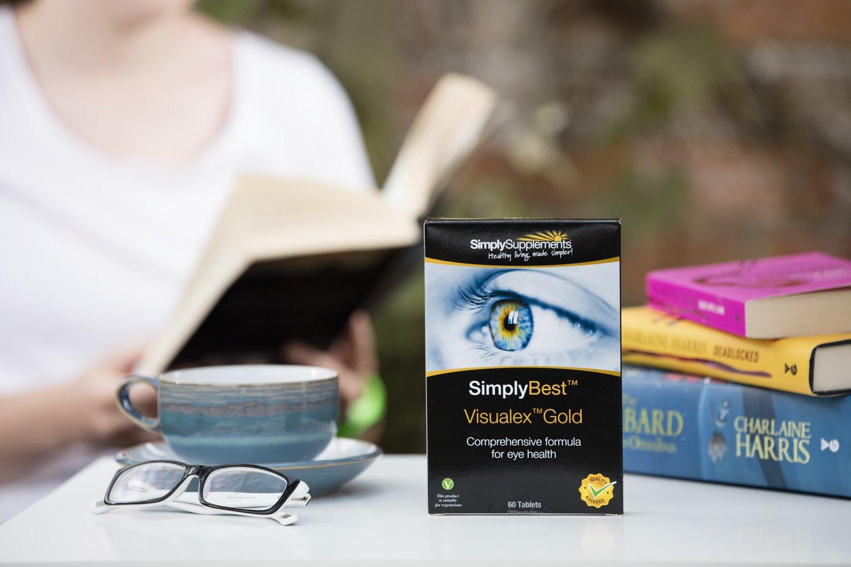 Visualex Gold - 60 comprimidos - Hasta 2 meses de suministro - Con Luteína y Zeaxantina - 17 vitaminas combinadas para reforzar la salud de los ojos ...