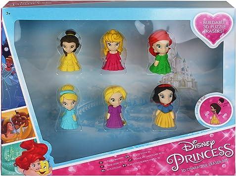 Disney Frozen 3D Radiergummi Radierer Schule Kinder Schulbedarf Schreibwaren Set