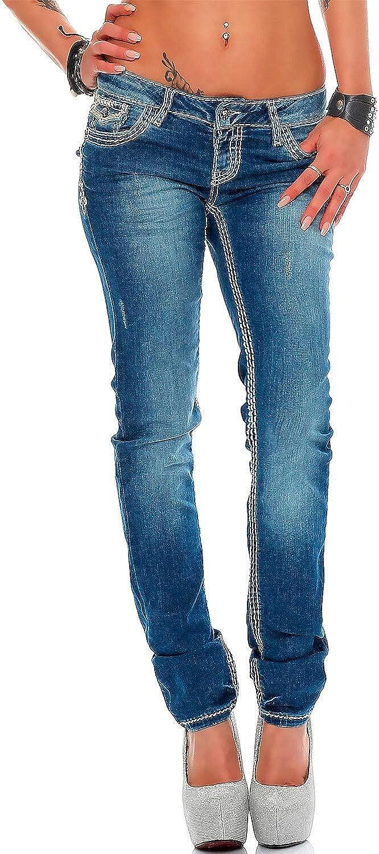 Cipo & Baxx WD 201 Damen blue Jeans Hose Jeanshose Denim