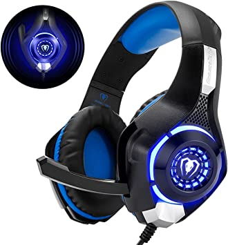 Beexcellent GM-1 - Auriculares Gaming para PS4, PC, Xbox one, PlayStation: Amazon.es: Electrónica