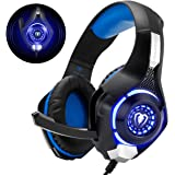 Beexcellent GM-1 - Auriculares Gaming para PS4, PC, Xbox one, PlayStation - Psone, Cascos Ruido Reducción de Diademas…