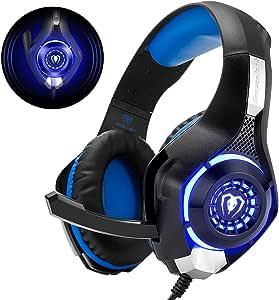 Beexcellent GM-1 - Auriculares Gaming para PS4, PC, Xbox one, PlayStation: Amazon.es: Electrónica