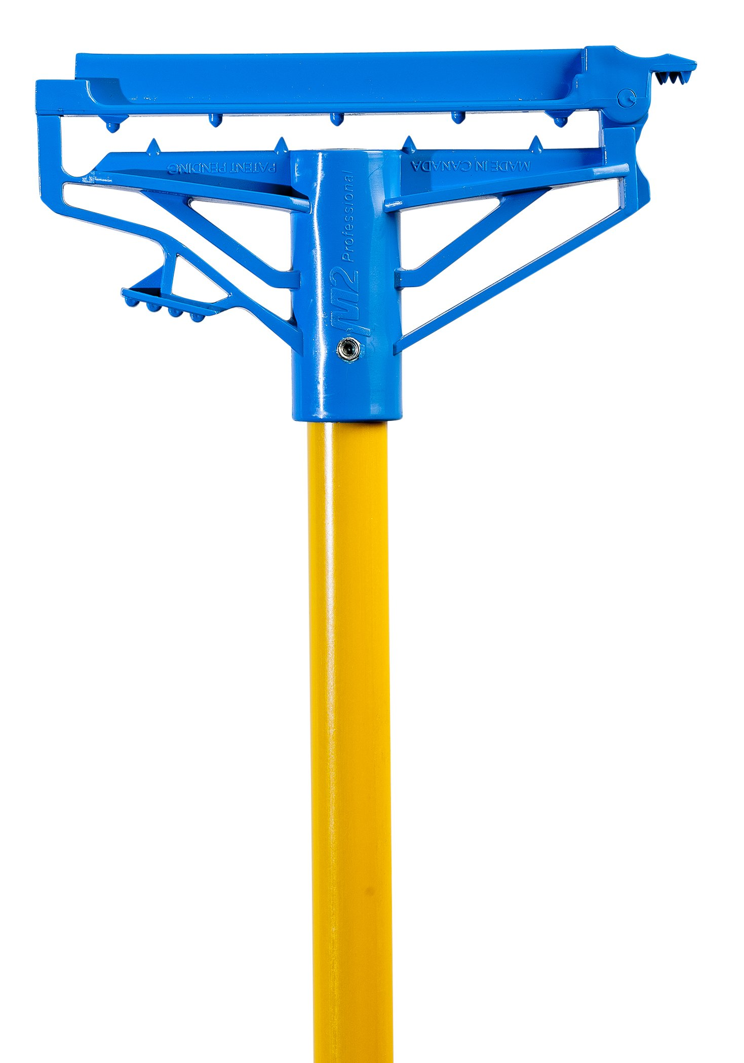 60'' Step-N-Go Fiberglass Mop Handle - Yellow (Case of 12) by M2 Professional Cleaning Products Ltd.