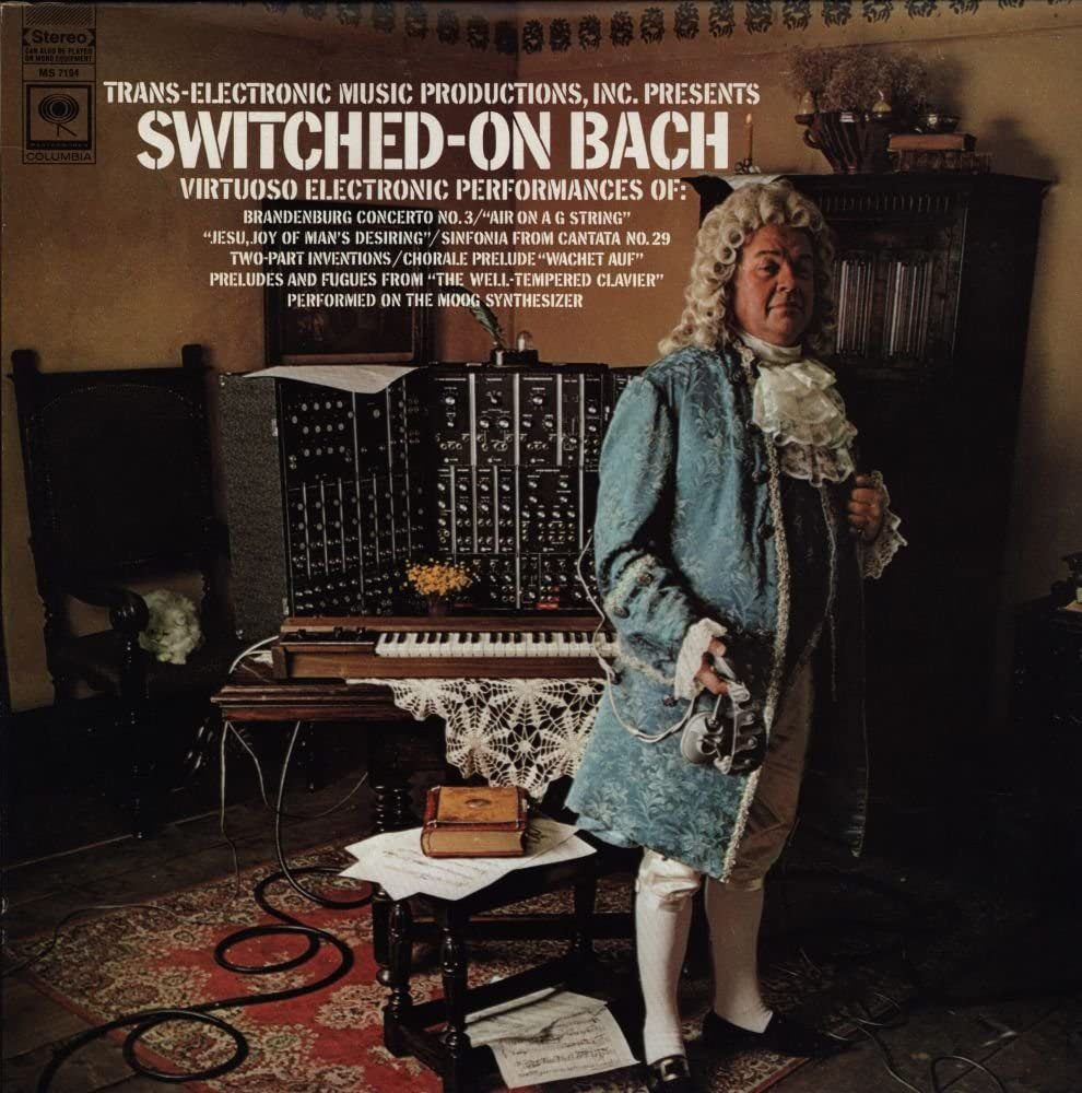 switched on Bach Wendy Carlos