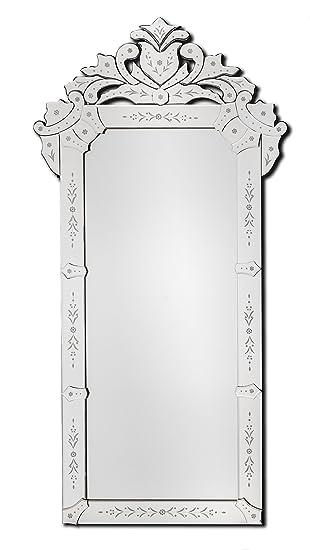 VN002 # VENEZIANISCHE SPIEGEL WANDSPIEGEL MODERN DESIGN DEKOSPIEGEL 122x62 cm