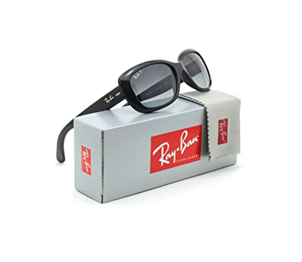 9a63f5eae8 Image Unavailable. Image not available for. Color  Ray-Ban RB4101 Jackie  Ohh Polarized Women Sunglasses Black 601 T3