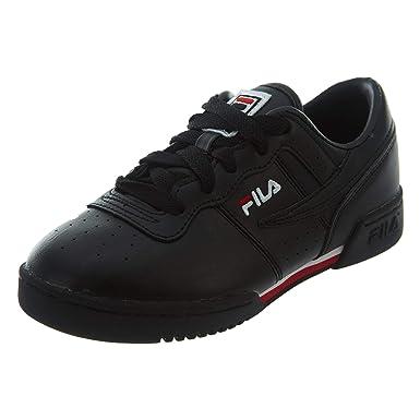 4aad4d7248979 Fila Kid's Original Fitness Sneakers Black/White/Fila Red 1