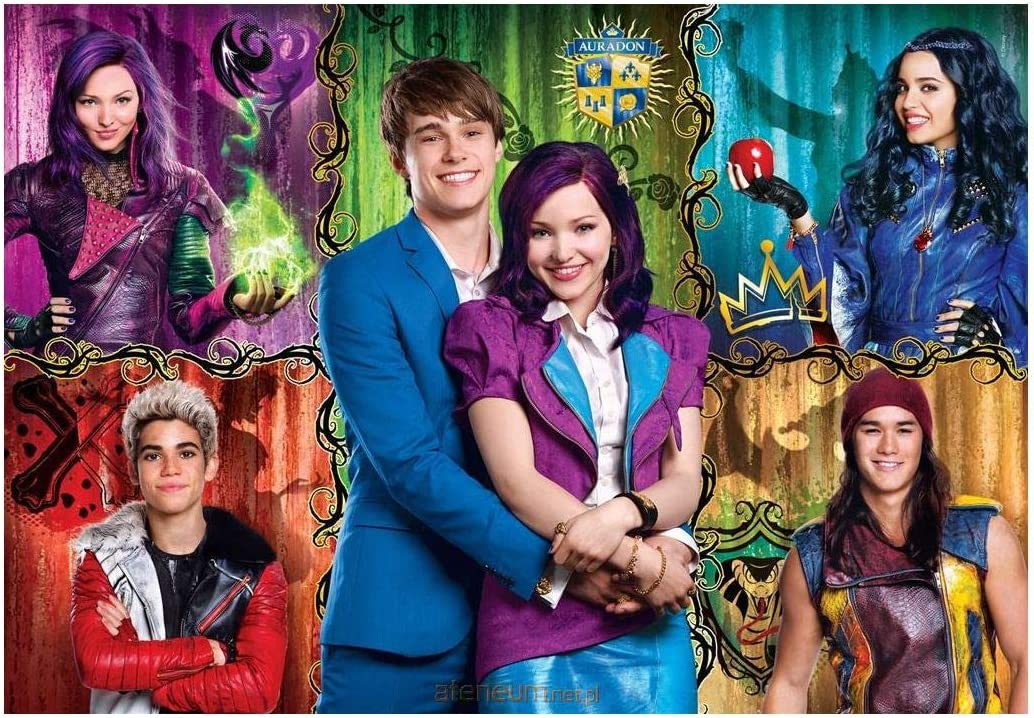 Clementoni - Disney - Puzzle 100 Piezas - The Descendants