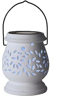 Lunartec Solar Windlichter Solar Dekoleuchte Aus Porzellan 3er Set