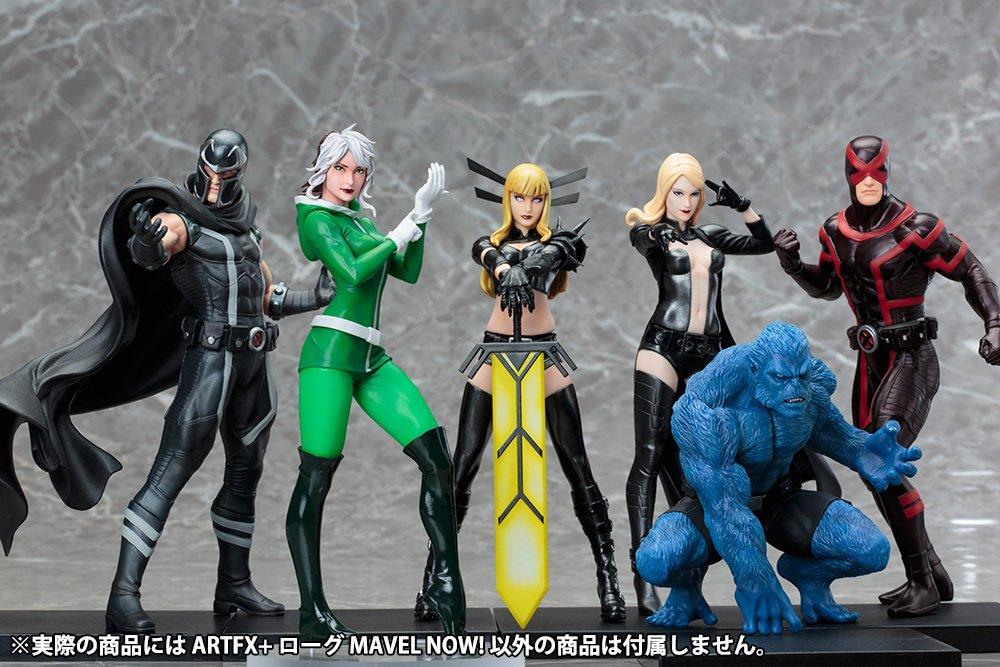 Rogue MARVEL NOW MARVEL NOW ARTFX 1//10 scale PVC painted simple assembly figure