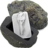 McKay Hide-A-Key Fake Rock Key Holder: Looks and Feels like a Real Rock while Safely Hiding your Spare Keys Outdoors
